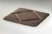 льняной коврик на авто или офисное кресло