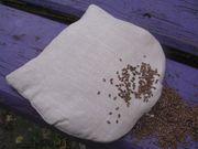 подушка-грелка с льняным семенами