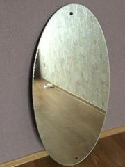 продам большое овальное зеркало