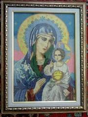 икона пресвятая необитаемый цвет божей матери
