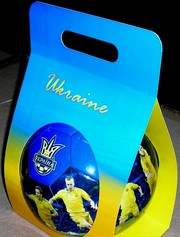 сувенирный мяч сборной Украины большой