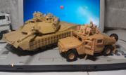 Продам Tamiya M1A2 SEP Abrams TUSK II   и  Revell GTK Boxer (GTFz)