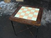 Продам столы б/у с ковкой для ресторана,  кафе,  общепита