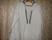 старинная рубашка вышиванка