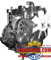 Трехцилиндровый двигатель KM385BT на китайский минитрактор