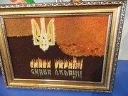 Продаю картины и иконы с янтаря