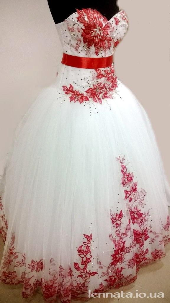 Вышивка платье свадебное платье 28