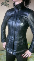 Кожаные Куртки Женские Бу