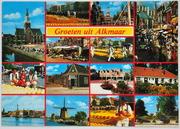 Распродажа коллекции цветных открыток с видами городов мира