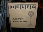 Продам вентилятор напольный Delfa в отличном состоянии