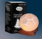 Продам  соляную лампу Футбольный мяч