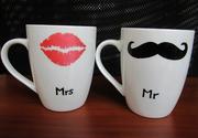 Чашки для двоих Мистер и Миссис