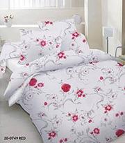 Купить постельное белье Украина,  Комплект «Красная маргарита»