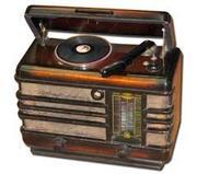 Радиола раритетная с рабочим радио