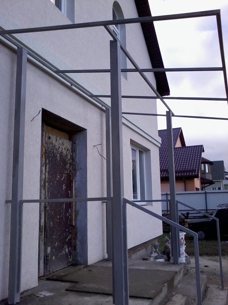 Забор металлический, вынос балкона, лестница,, киев. цена 20.