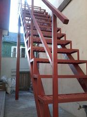 Лестницы металлические 180грн,  ступ. Заборы,  Ограды,  Металлоконструкци