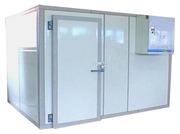 Продам холодильные камеры на 8 куб. метров б/у в ресторан,  общепит