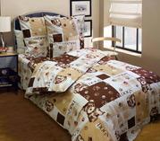Постель детская в кроватку - комплект Догги