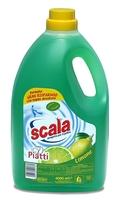 Средство для мытья посуды с ароматом лимона Scala (4 л.)