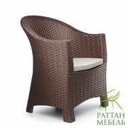 Комплект мебели из ротанга,  Серия Лаунж