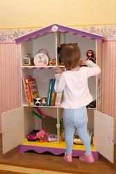 Домик для кукол,  кукольный домик,  Барби,  Монстер Хай,  Ever After High полка для книг.