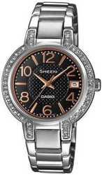 Женские наручные часы CASIO SHE-4804D-1AUER в Украине с гарантией