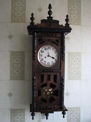 Продам часы  Gustav Becker 1876 г.вып.с красивым трехгонговым боем. Рабочие.