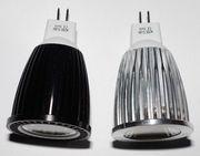 Светодиодная лампа 12W LED MR16 АС/DC 12-24V,  12Вт