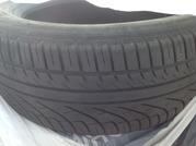 Продаю б/у летние шины Michelin-1 шт зимние шины Kleber-пара
