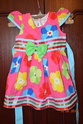 Платье детское рост 76-80