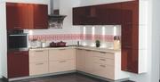 Кухня угловая мебельной фабрики GlossLine
