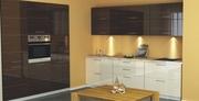 Кухня сегментная мебельной фабрики GlossLine
