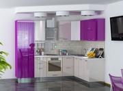Кухня угловая 2 мебельной фабрики GlossLine