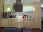 Кухня прямая 2 мебельной фабрики GlossLine