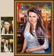 Заказать портрет в Киеве. Заказать портрет по фотографии Киев. Портрет