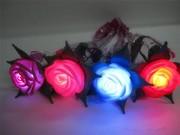 Светящаяся роза ночник,  светящаяся роза купить,  светящиеся цветы,  Кие
