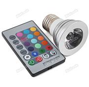 Led лампа с пультом управления,  Светодиодная RGB лампа,  купить в Киеве