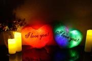 Эксклюзивные декоративные подушки в форме сердца с надписью I love Yo