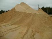 Купить Песок речной,  овражный (карьерный) с доставкой