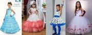 Прокат: детские нарядные платья для выпускных и праздников