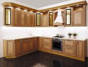 Классическая кухня в цвете Дуб Родос рамочный