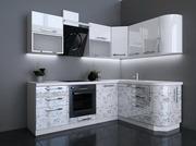Кухня модерн в цвете Цветочная фантазия