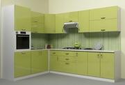 Кухня Грейд в цвете Лимон глянец
