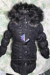 Пальто для девочек BILEMI -холофайбер размер 122 до 152