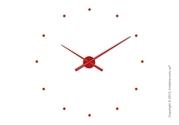 Интернет-магазин предлагает Вам настенные часы Nomon Oj Wall Clock, Red