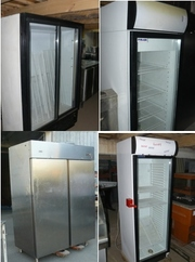 Продам личные холодильные шкафы бу для ресторана кафе бара столовой