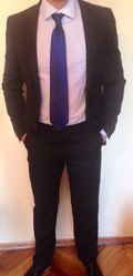 Мужской деловой костюм от Gregory Arber