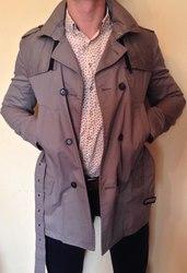 Мужское брендовое пальто от IKKS. НОВОЕ!!