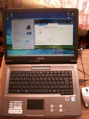 Ноутбук Asus x51R (б/у).