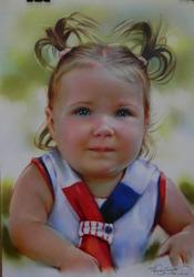 Нарисую детский портрет по фото на заказ